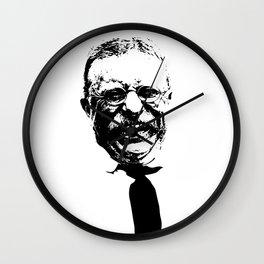 President Teddy Roosevelt Wall Clock