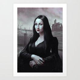 Monatisia Art Print