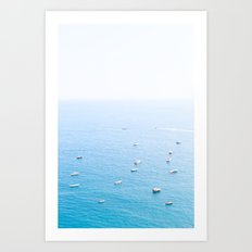 AMALFI COAST SERIES #2 Art Print