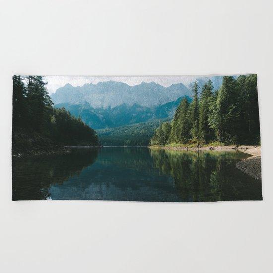 Looks like Canada II - Landscape Photography Beach Towel