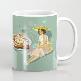 Ice Cream Sandwich With Pineapple and Coconut Coffee Mug