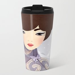 The Wings of the Dove Metal Travel Mug