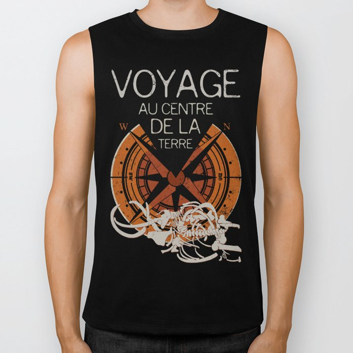 Books Collection: Jules Verne Biker Tank