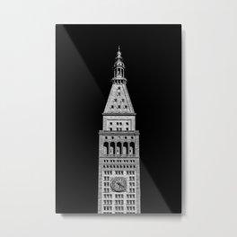 The Clock Tower Metal Print
