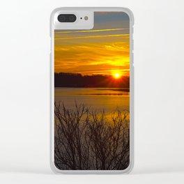 Sunrise at Little Seneca Lake Clear iPhone Case