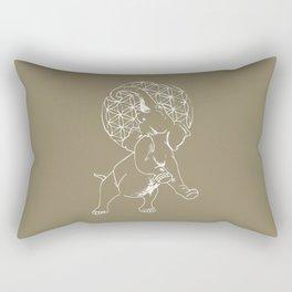 Elephant Life Rectangular Pillow