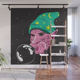 The Bubblegum Man Wall Mural