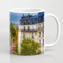 The View, Eiffel Tower Paris France Coffee Mug