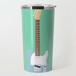 Flat Telecaster custom 6 Travel Mug