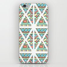 Aztec shapes iPhone & iPod Skin