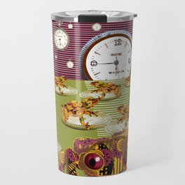 Freddie Croaker and the Clockworks Moonlight Sonata. Travel Mug