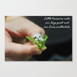 Little Treasures  Canvas Print
