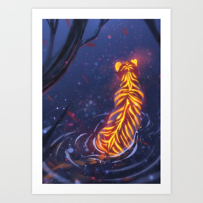 In the Shallows Art Print