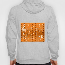 Music Wall Background Hoody