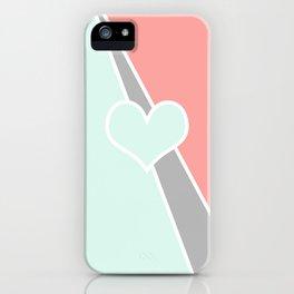 Love Pastel iPhone Case