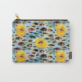 Eyes (Cue the Peaches) Carry-All Pouch