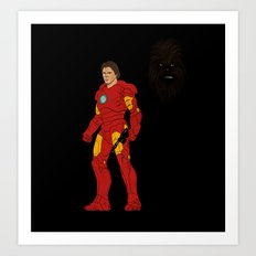 Iron Han Art Print