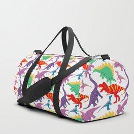 Dinosaur Domination - Light Duffle Bag