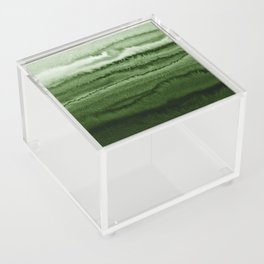 WITHIN THE TIDES FOREST GREEN by Monika Strigel Acrylic Box