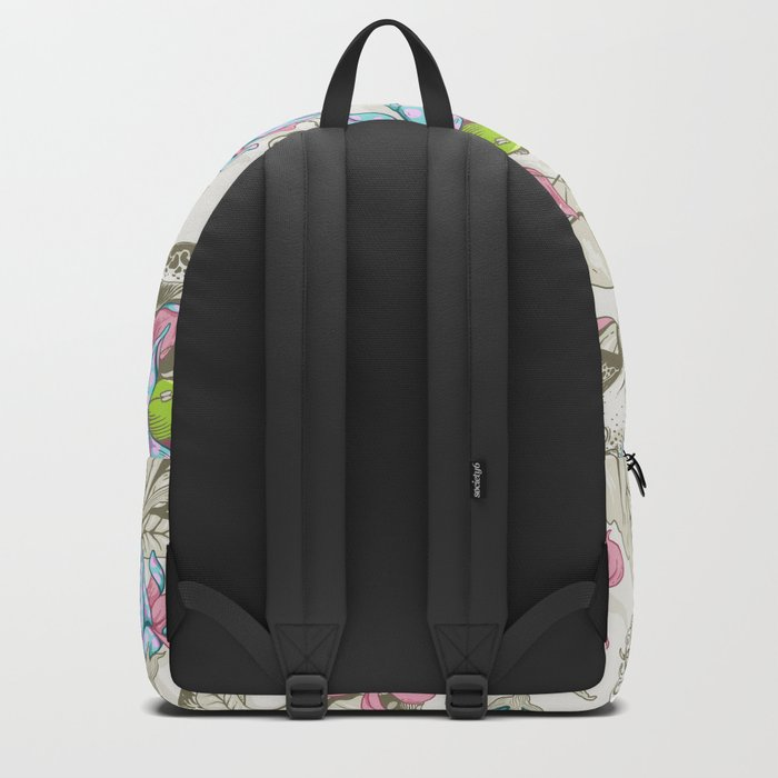 The Sea Garden - pastel Backpack