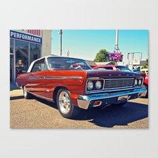 Classic Ford Fairlane 500 Canvas Print