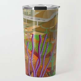 Desert City Phoenix Travel Mug