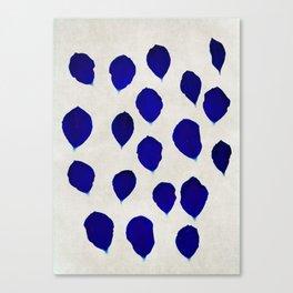 blue blossom Canvas Print