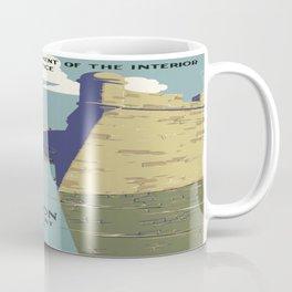 Vintage poster - Fort Marion Coffee Mug