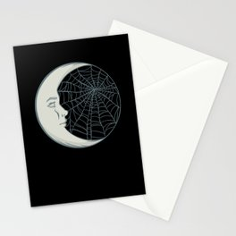 Cobwebs and moonlight Stationery Cards