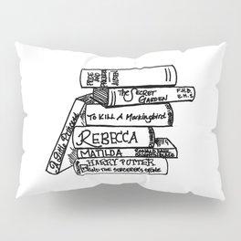 Favorite Books Pillow Sham