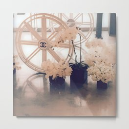 Coco No. 5 Floral Exhibit Metal Print
