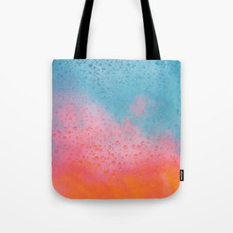 Cotton Candy Cloud Drips Tote Bag