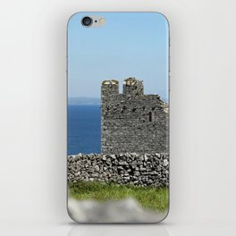 Old castle ruins iPhone Skin
