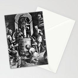 Alchemical Laboratory Stationery Cards