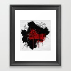 Random #3 Framed Art Print
