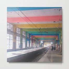 Colorful Terminal Metal Print