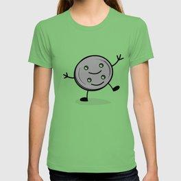 Siamese Twin Button T-shirt