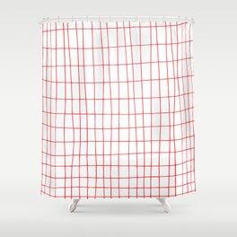 Maths Grid Shower Curtain