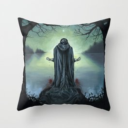 The Promise of Death Throw Pillow