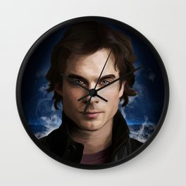 Damon Salvatore (Ian Somerhalder) Wall Clock