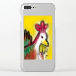 Thanksgiving Revenge Turkey Clear iPhone Case