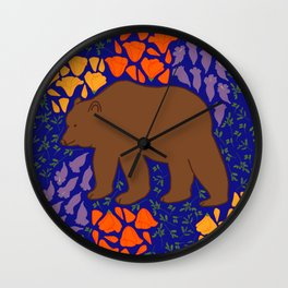 Golden State Wall Clock
