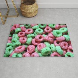 Breakfast Loops - Christmas Rug