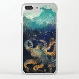 Underwater Dream II Clear iPhone Case