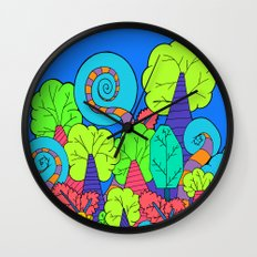The Wacky Forest Wall Clock