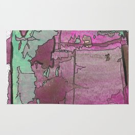 What Do I Choose Abstract Modern Painting Rug