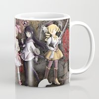 madoka Mugs featuring Madoka by drawn4fans