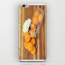 Lacy Clementines iPhone Skin