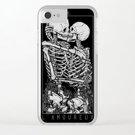 The Lovers Clear iPhone Case