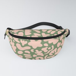 Cute abstract green pattern Fanny Pack